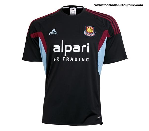 West Ham United 13/14 adidas Third Football Shirt
