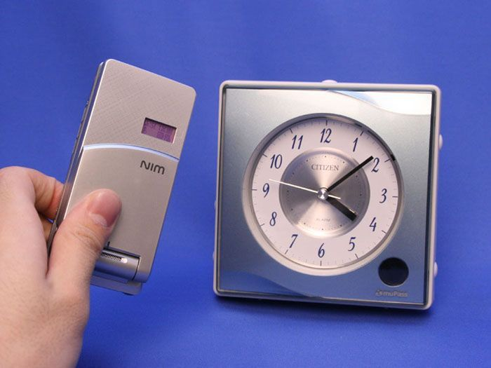 Alarm clock shares phone ringtones wirelessly | Ever wanted to have an alarm clock that can play the ringtones from your phone to wake you up in the morning? No, thought not, but that hasn't stopped Citizen Japan from producing a clock which does exactly that. Buying advice from the leading technology site