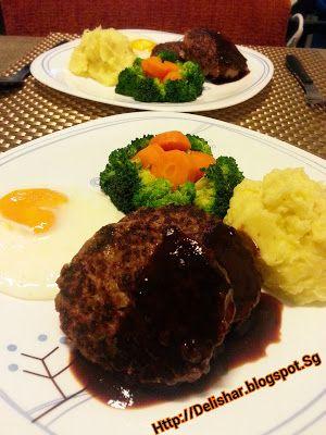 Japanese Hamburg Steak (Hambagu) | Dinner | Pinterest