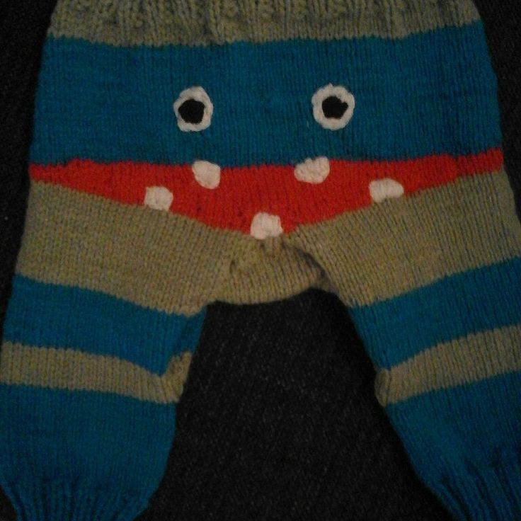 Monsterpants for baby