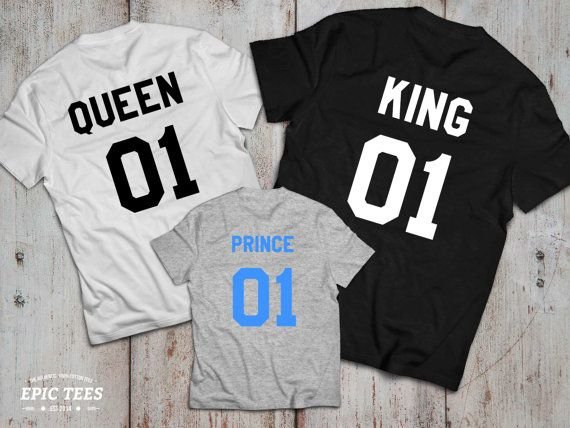 King and Queen 01 Prince 01 Father Mother Son by EpicTees4You