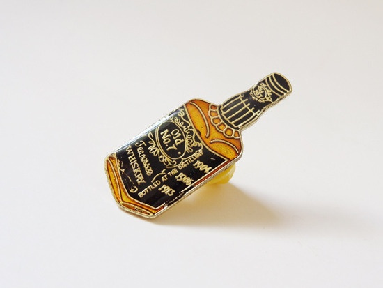 Whisky Pin Badge