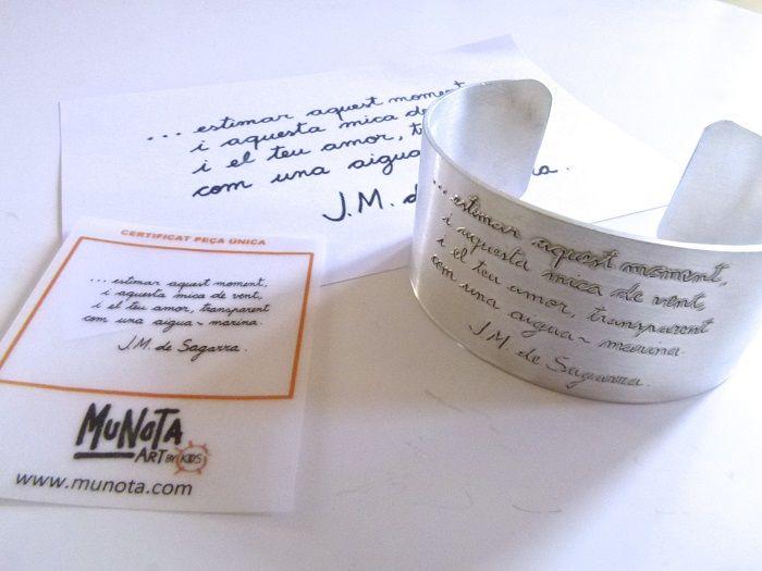 Regalos jubilación originales personalizados en joyas de plata. El regalo jubilación ideal para aquellos compañeros de trabajo que se jubilan.