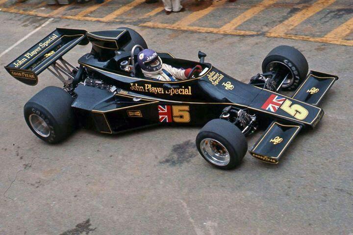 1976 Bob Evans, Lotus 77 Ford