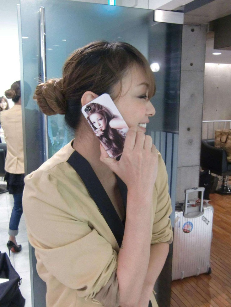 Namie Amuro smartphone case ranked near the top in the Okinawa concert merchandise survey!!
