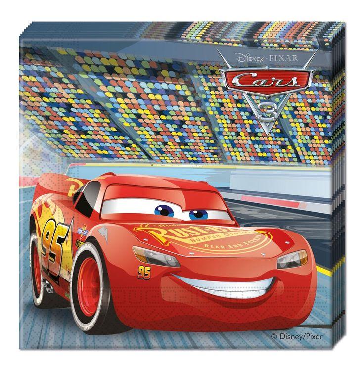 Cars 3- servetti