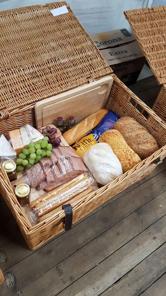 Looking for Rustic wedding catering Ideas? Our Picnic Hampers work well for a rustic style wedding.