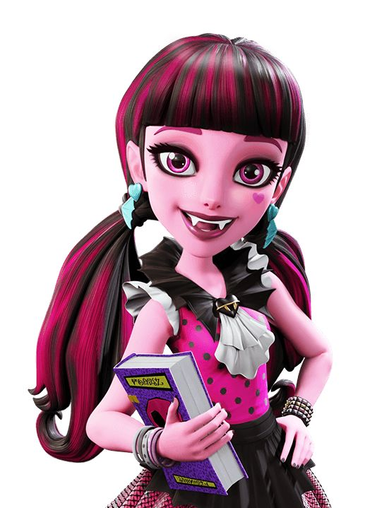 Draculaura. Basic. How do You Boo (First Day of School). NEW 3D Art