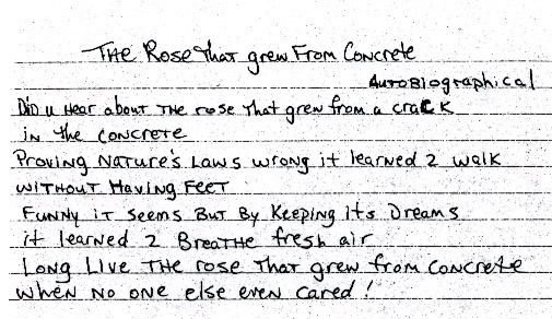 2Pac - The Rose That Grew from Concrete (Autobiographical ...