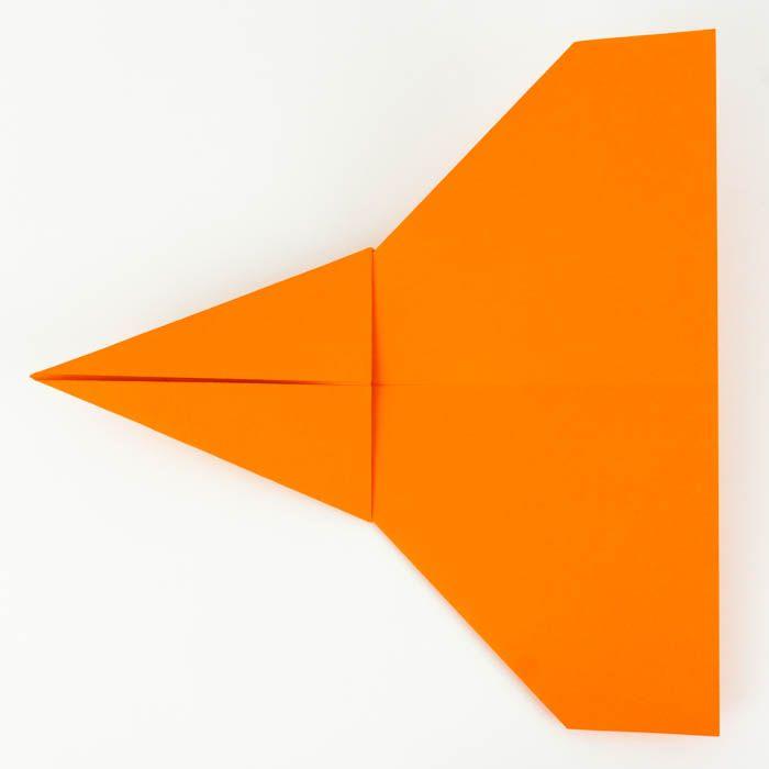 Origami Flugzeug Falten Anleitung