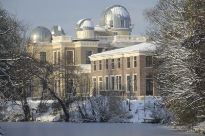 Observatorium, Sterrenwacht in Leiden.