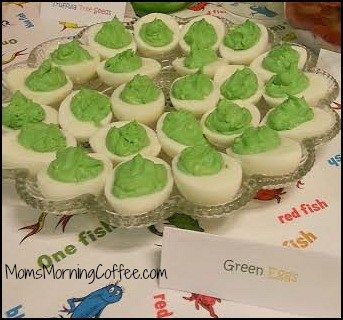 Dr. Seuss Baby Shower - green eggs