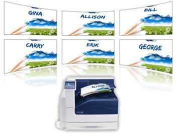 Variable Data Printing from XMpie - a Xerox Company