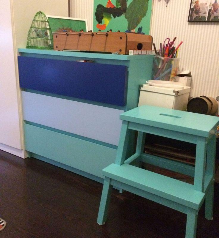 Trista möbler får nytt liv med sprayfärg | Fixat