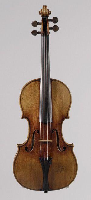 Antonio Stradivari: Violín 'Antonius' - el Museo Metropolitano de arte