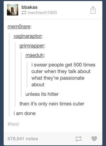 oh look  another tumblr post  nein times cuter edition    Imgur