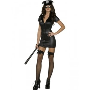 Costume de fliquette sexy