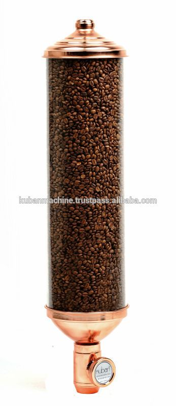 Bulk Coffee Bean Dispenser/coffee Silo/coffee Bean Silo/cylindrical Bulk Coffee Bean Silo Pss80 , Find Complete Details about Bulk Coffee Bean Dispenser/coffee Silo/coffee Bean Silo/cylindrical Bulk Coffee Bean Silo Pss80,Coffee Bean Dispenser,Topping Dispenser,Cylindrical Coffee Bean Silo from Beverage & Wine Processing Machinery Parts Supplier or Manufacturer-KUBAN MAKINA DEKORASYON GIDA INSAAT SANAYI VE TICARET LIMITED SIRKETI