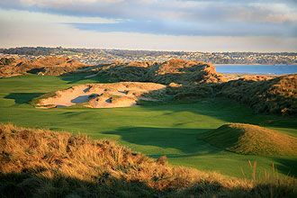 PowerfulGolfTips.com - Barnbougle Dunes golf course in Tasmania (Australia) is a remarkably beautiful and challenging golfing experience. #golfcourses #golf