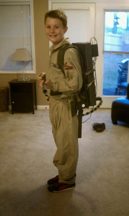 diy ghostbuster halloween costume crafts put the 39able