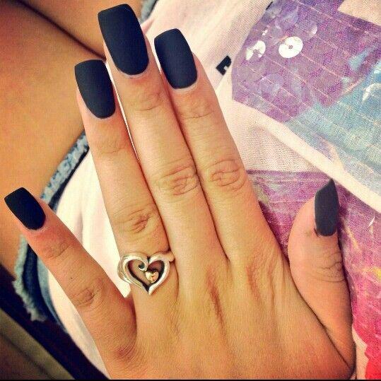 black square acrylic nails - photo #15