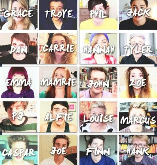 Youtubers some of my favorites