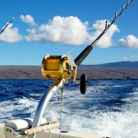Trolling with Saltwater Fishing Gear