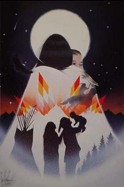 Morning Star  Jim Yellowhawk, Lakota Artist