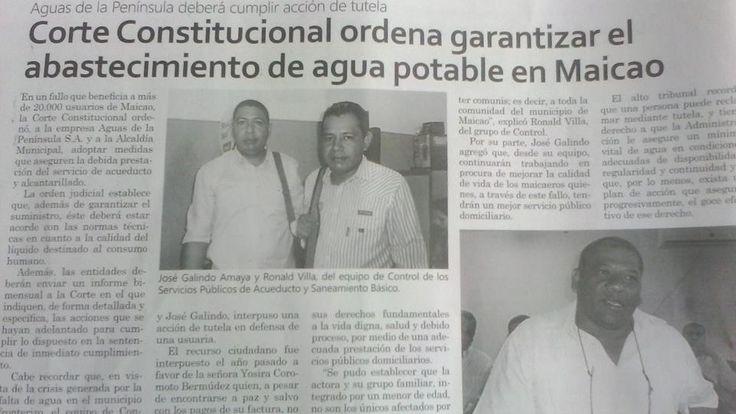 SE CAE CARGO FIJO EN MAICAO, MEDIANTE SENTENCIA T - 028 DE 2014, Que ha pasado
