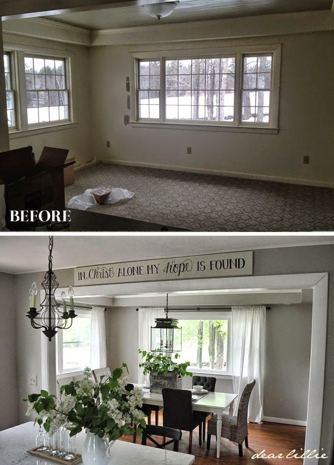 Dear Lillie: Jason's Full House Tour (Lots of Before and Afters)