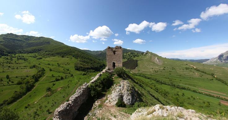 Coltesti Fortress, Romania