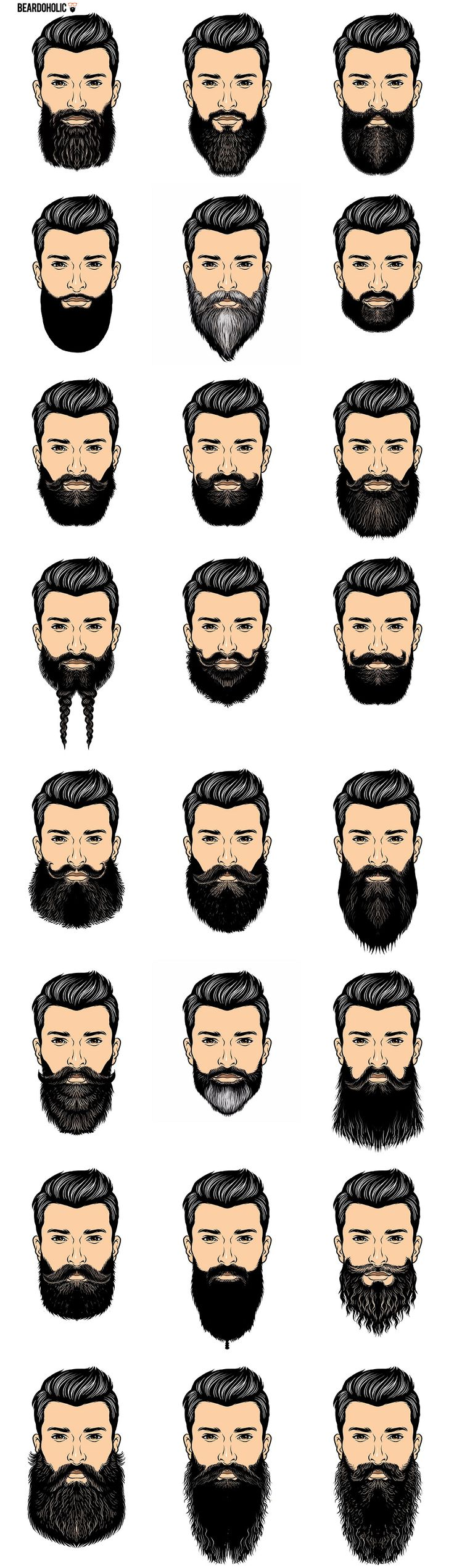 best 25 beards ideas on pinterest beard styles beard tips and barbe games. Black Bedroom Furniture Sets. Home Design Ideas