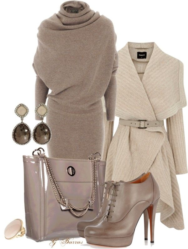 """""""Taupe"""" by gaburrus on Polyvore"""