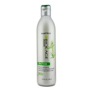 Matrix Biolage Fiber Strong Shampoo for Weak, Fragile Hair 13.5 Ounce