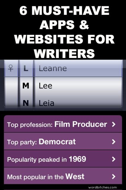 6 Must-Have Apps and Websites for Writers
