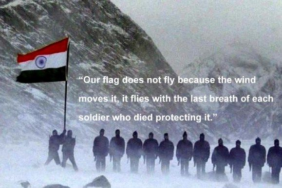 12 #quotes By #IndianArmy #Soldiers That Will Fill You With #Patriotism   http://www.9hues.com/indian-army-quotes/  #ArmyDay