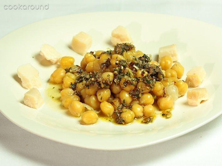 Immagini: Ceci acciughe e formaggio: Ricette di Cookaround | Cookaround
