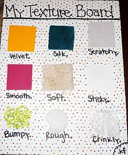 My Texture Board Kf Texture Board Teaching Babies
