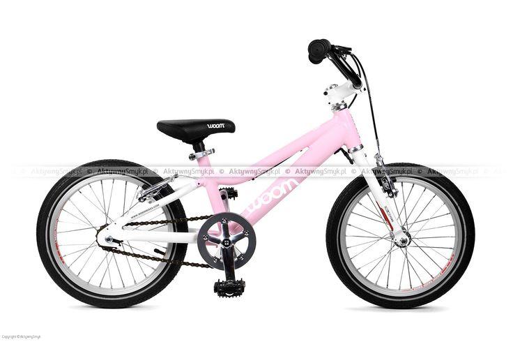 """Lekki rowerek Woom 3 różowy (koło 16"""") dla 4 latki"""