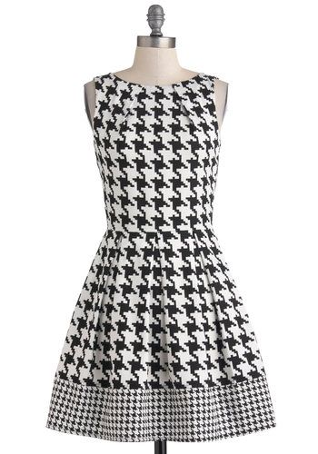 Houndstooth via ModCloth. so in love.