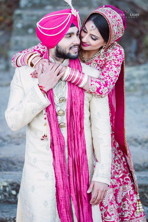 Revina + Shaminder - Stylish Punjabi Wedding in Sydney - Wedding day photo shoot…