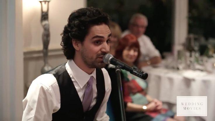 Über 3 Mio. Klicks auf Facebook und YouTube   Trauzeuge singt Rede für seinen Bruder http://www.bild.de/lifestyle/2015/hochzeit/trauzeuge-singt-bewegende-rede-40450662.bild.html https://www.youtube.com/watch?v=3XL9BB0ttsM#t=70