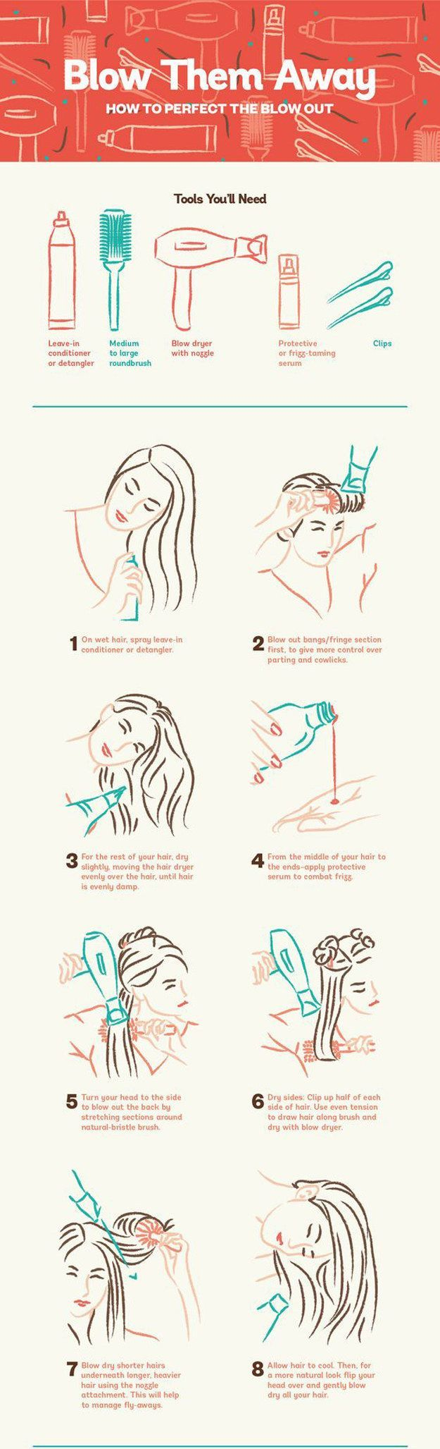 Here's how to get the best blow out.