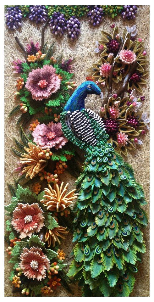 This is amazing quilling.