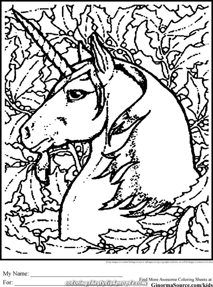 Elegant Unicorn Superior Coloring Pages Abstract Coloring Pages Unicorn Pictures To Color Unicorn Coloring Pages
