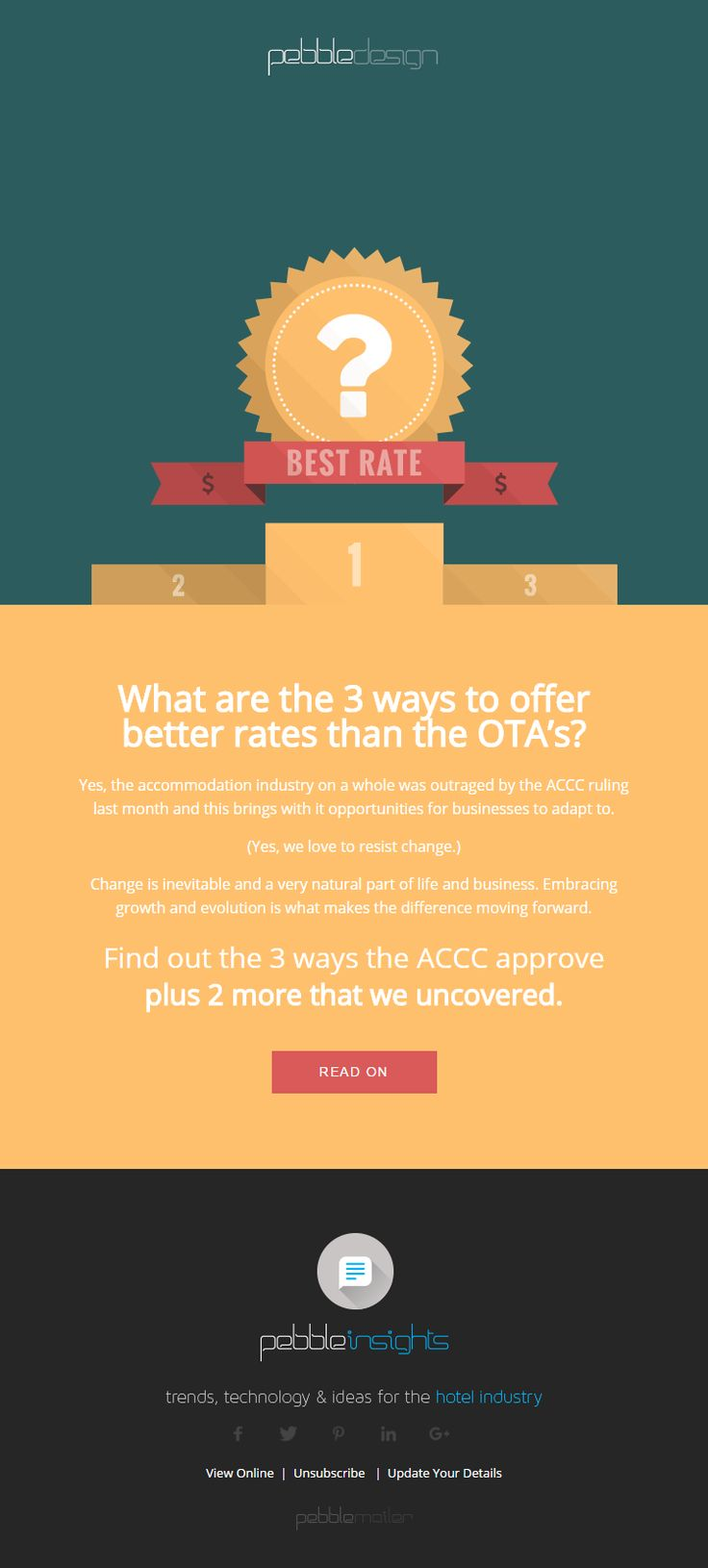 What are the 3 ways to offer better rates than the OTA's? - Hospitality Insights #hospitalityinsights #hotelwebdesign #hotelwebsitedesign #pebbledesign #hotelwebsites