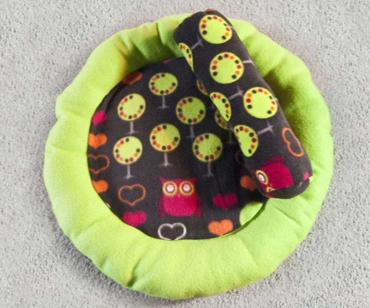 How To Sew A Round Cat Bed Amp Bolster Pillow Everything
