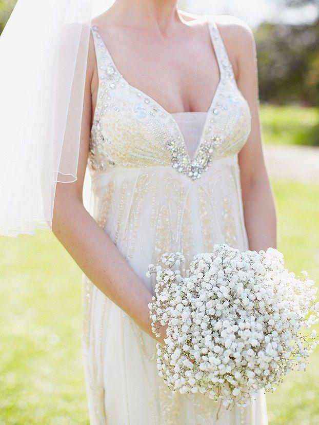 gypsophila bouquets for bridesmaids