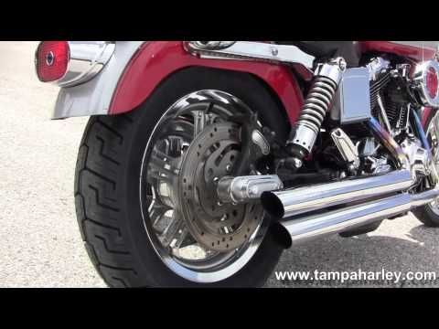 Look at this Exhaust video we just added at http://motorcycles.classiccruiser.com/exhaust/used-2002-harley-davidson-fxdl-dyna-low-rider-motorcycle-loud-exhaust/