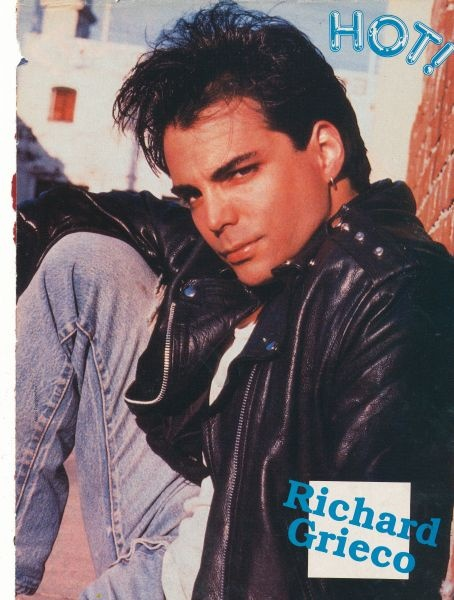 Richard Grieco, and I think this is a pic from Tiger Beat!  lol